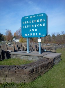 Heldeberg welcome sign