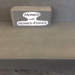 Honed edges