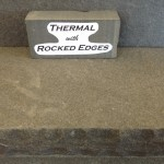 Thermal with rocked edges